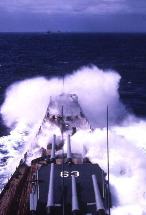 Navy vs Waves