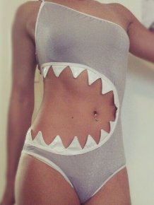 Shark Attack Swimsuit