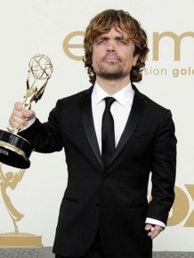 Peter Dinklage and His Wife