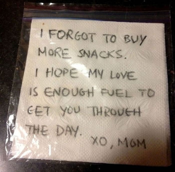 Notes from Parents