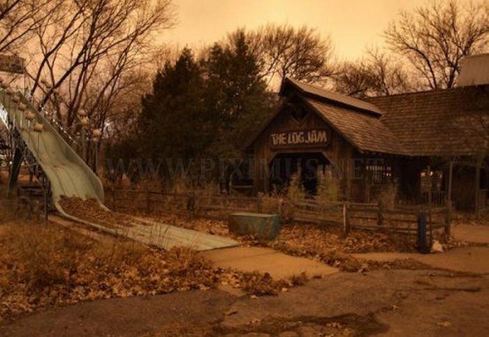 Abandoned Amusement Park in Kansas
