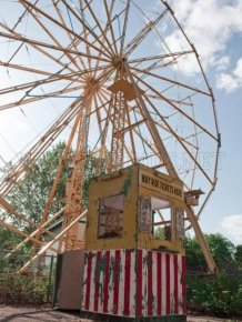 Abandoned Amusement Park in Kansas