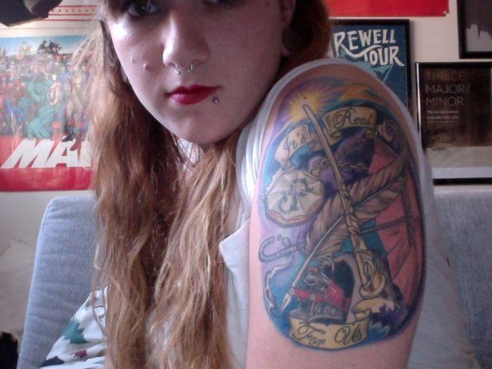 Harry Potter Tattoos