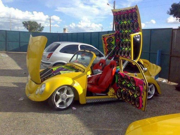 Funny and Interesting Car Photos