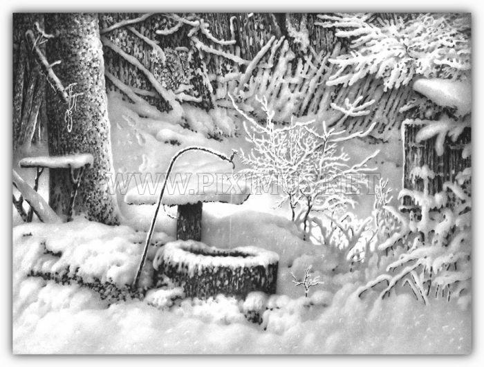 Beautiful Winter Drawings