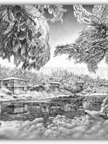 Beautiful Winter Drawings