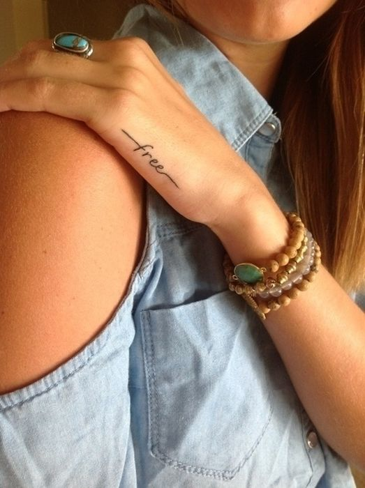 Typography Tattoos