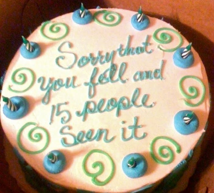 Cake for Awkward Occasions