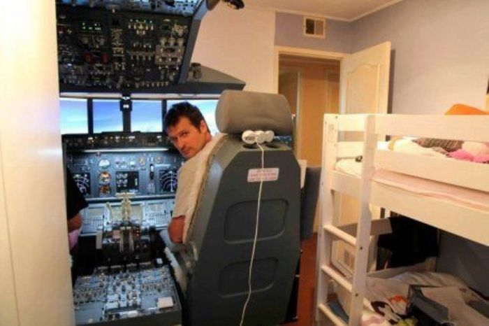 Boeing 737 Cockpit at Home