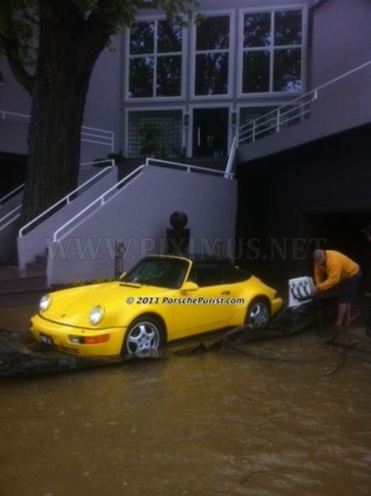 How to Save Your Precious Car From the Flood