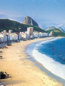 Copacabana Beach, July 2013