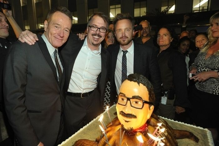 """The """"Breaking Bad"""" Cast Celebrates the Final Episodes"""