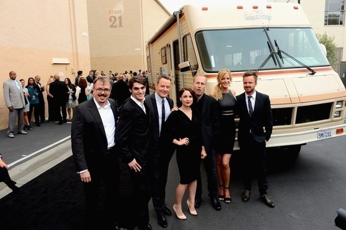 "The ""Breaking Bad"" Cast Celebrates the Final Episodes"