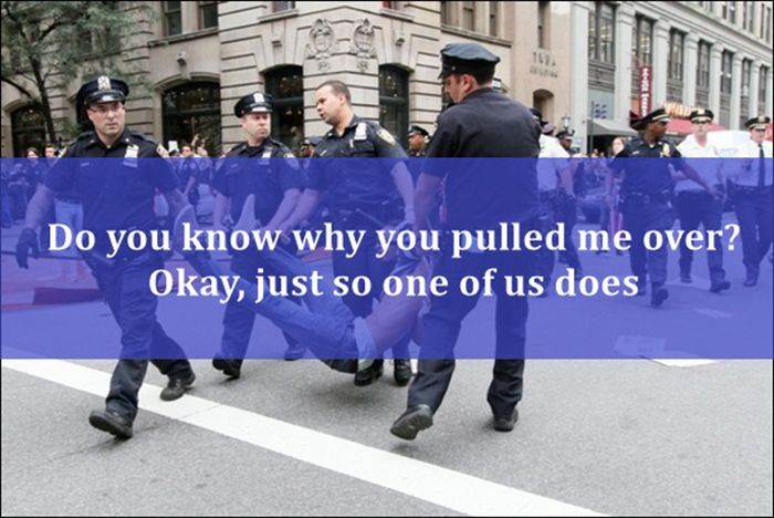 Avoid Saying These Things to a Police Officer
