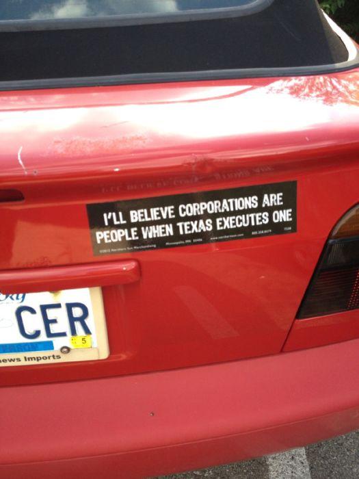 Hilarious Bumper Stickers