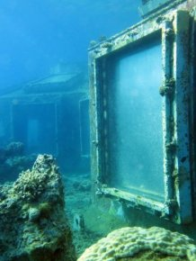 Abandoned Underwater Strip Club