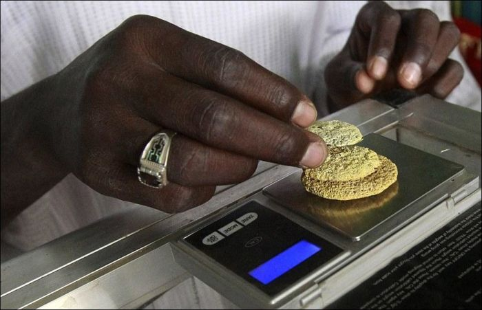 Gold Rush in South Sudan