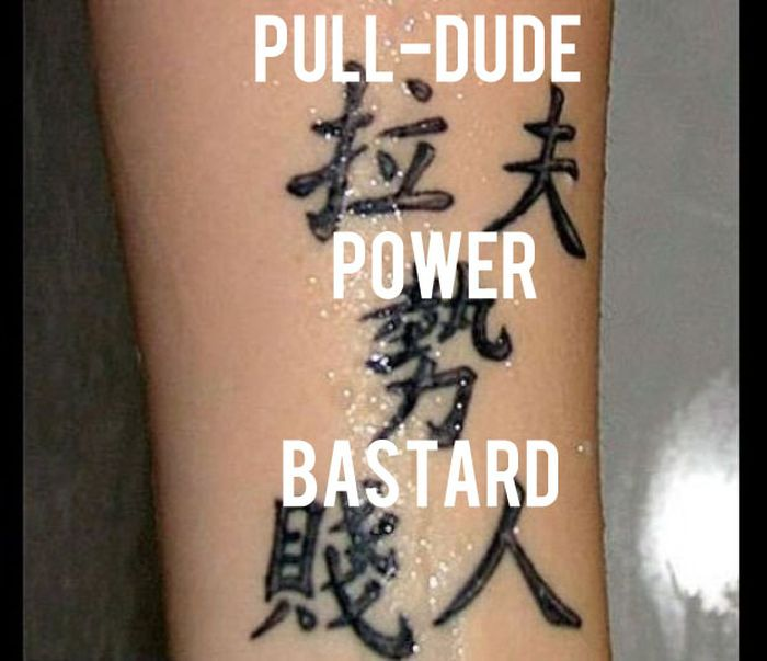 Chinese Character Tattoos Translated