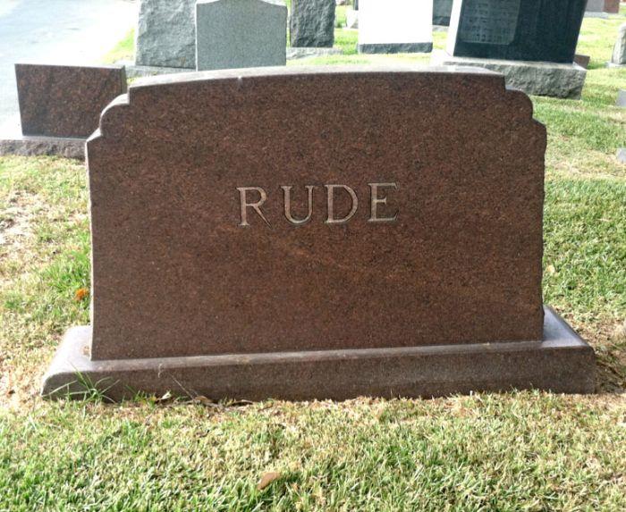 Unusual Tombstones