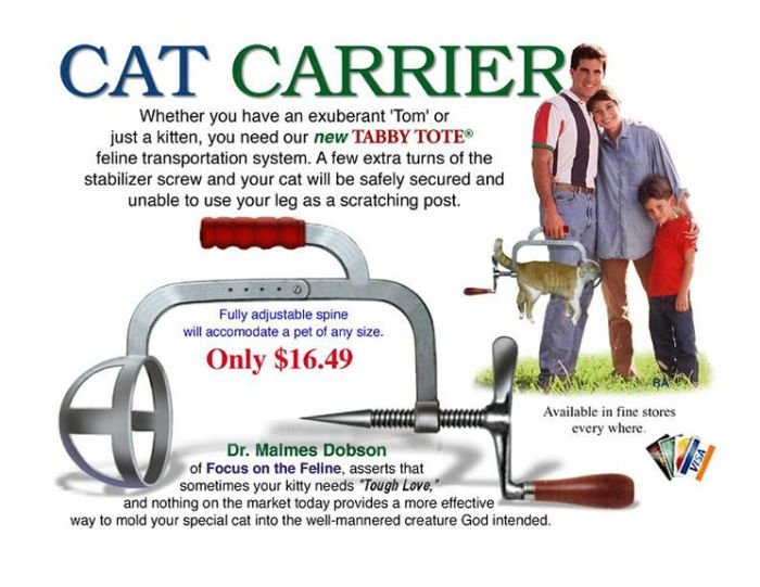 Cat Carrier Exists