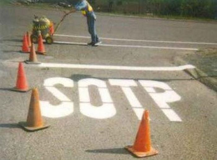 Road Signs with Mistakes