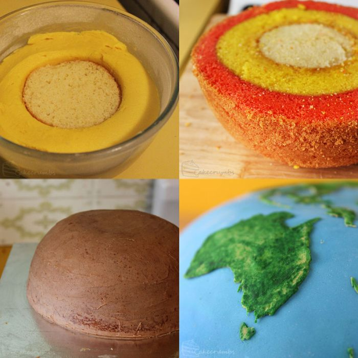Cake Planets by Cakecrumbs