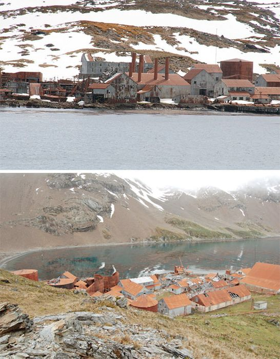 Abandoned Places of Antarctica