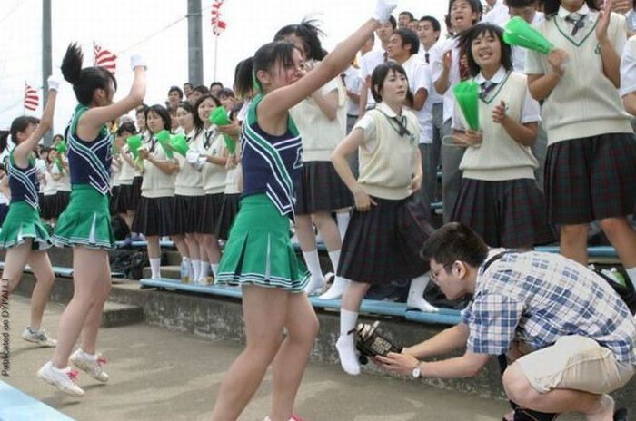 Taking a Photo Like a Real Pervert