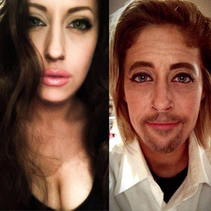 Great Makeup Trasnformations