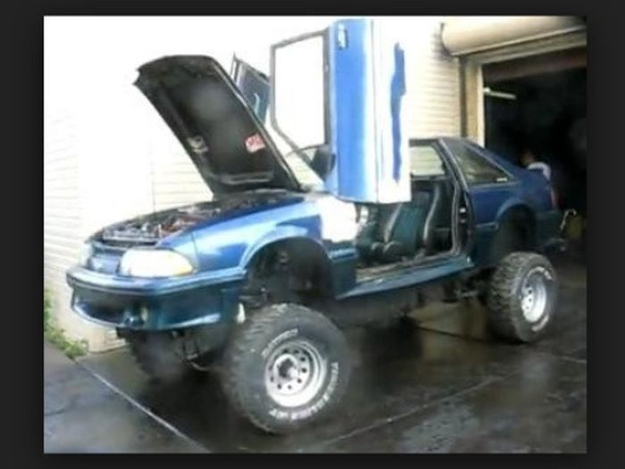 Muscle Cars 4x4