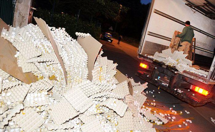 100,000 Eggs Smashed