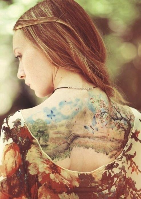 Beautiful Nature Tattoos