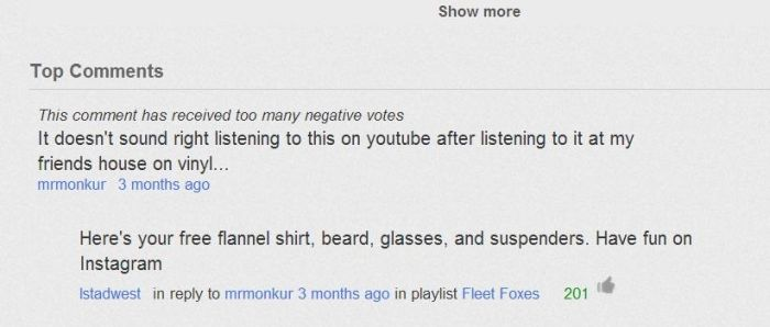 Funny Youtube Comments Part 13, part 13