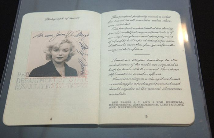 Vintage Celebrity Passport Photos