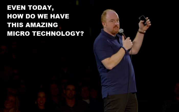 Louis CK Has Something to Say