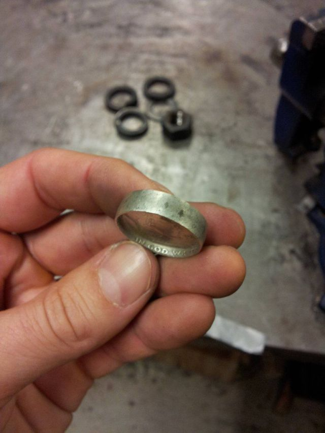 DIY Coin Rings