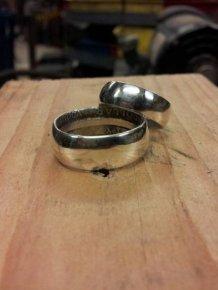 DIY Coin Rings