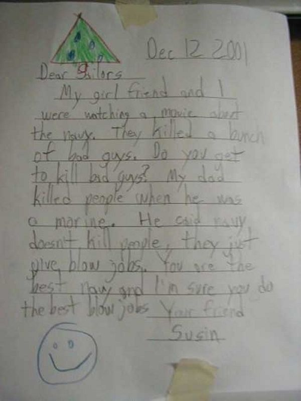 Funny Kids' Messages