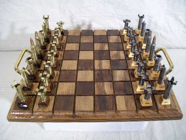 Amazing Bullet Chess Set