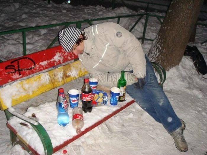 Drunk Russians
