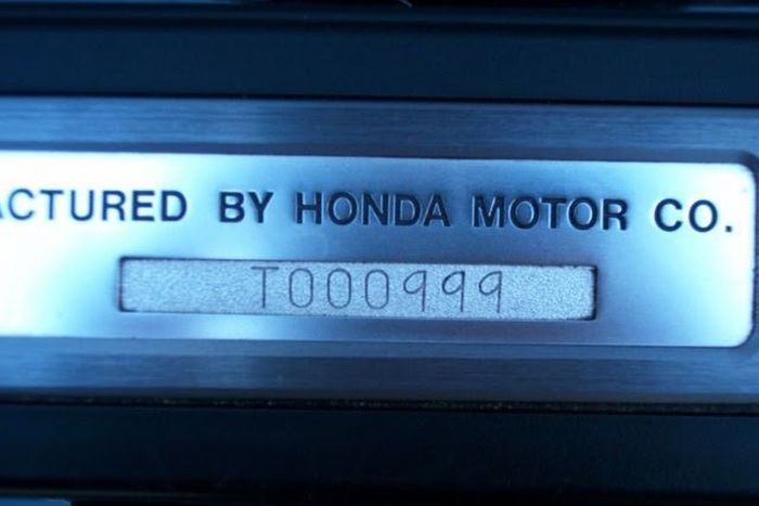 Found on eBay - Honda NSX belonged to Ayrton Senna