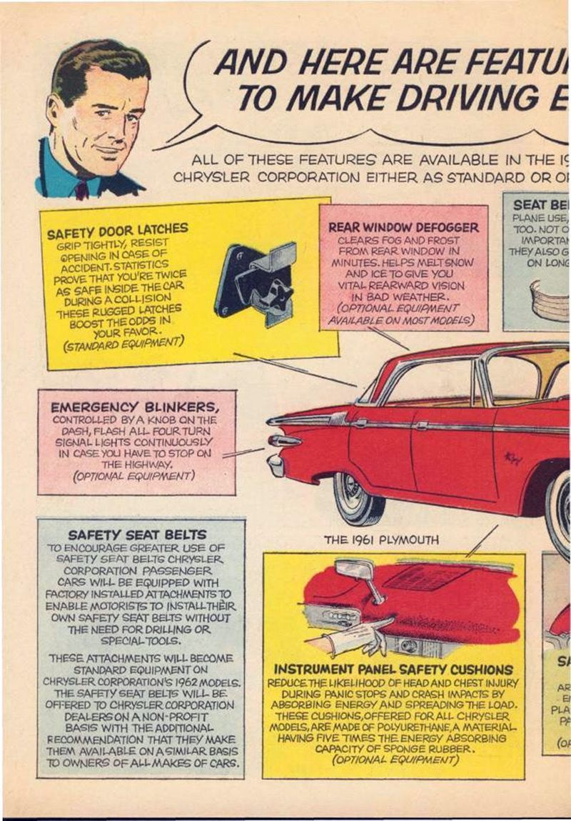 Comics from Chrysler in 1961, part 1961