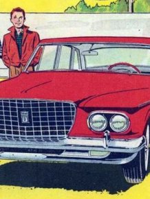 Comics from Chrysler in 1961