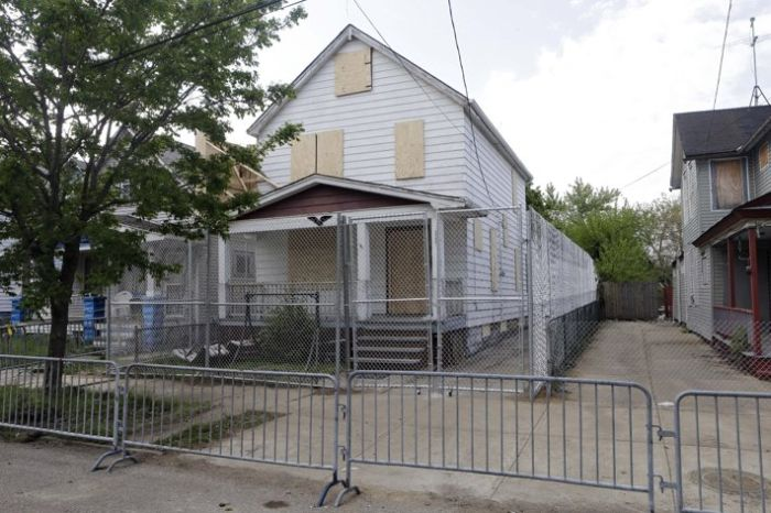 Inside the Ariel Castro House