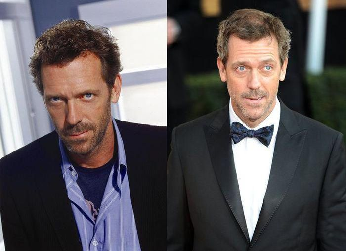 House m d cast then and now