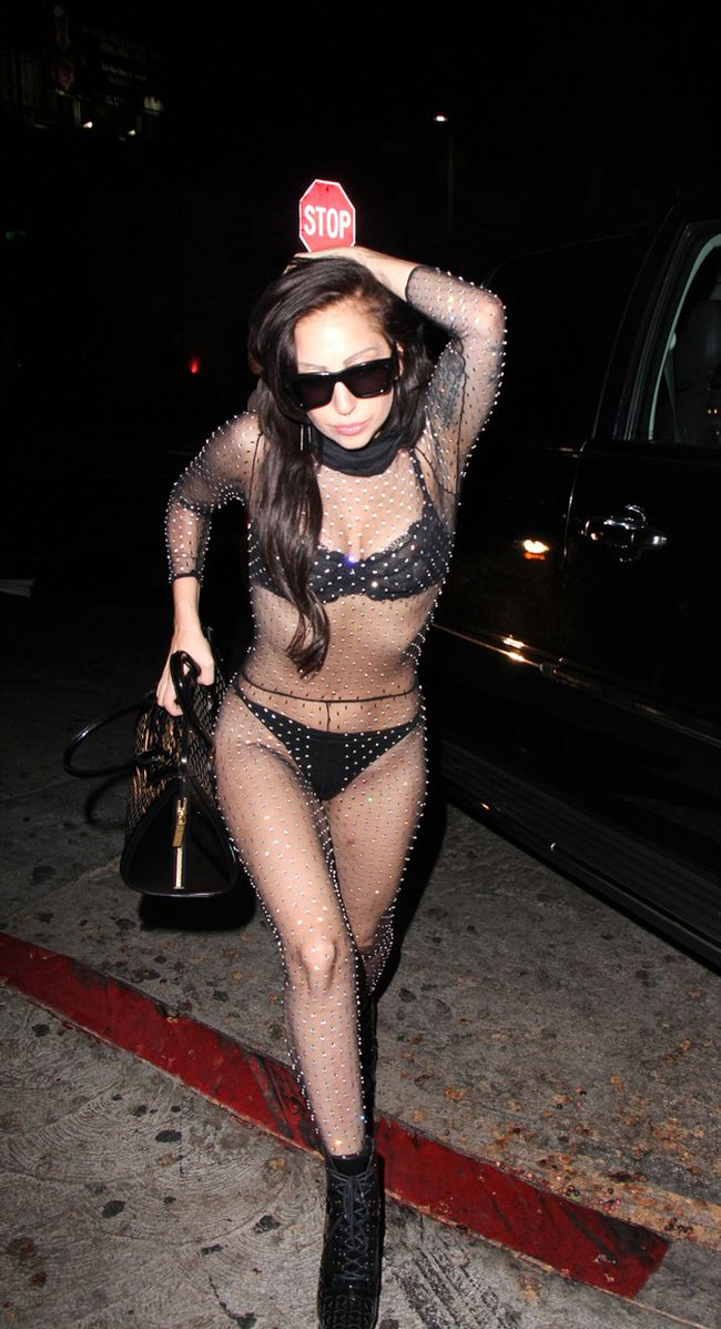 Lady Gaga in G-Strings