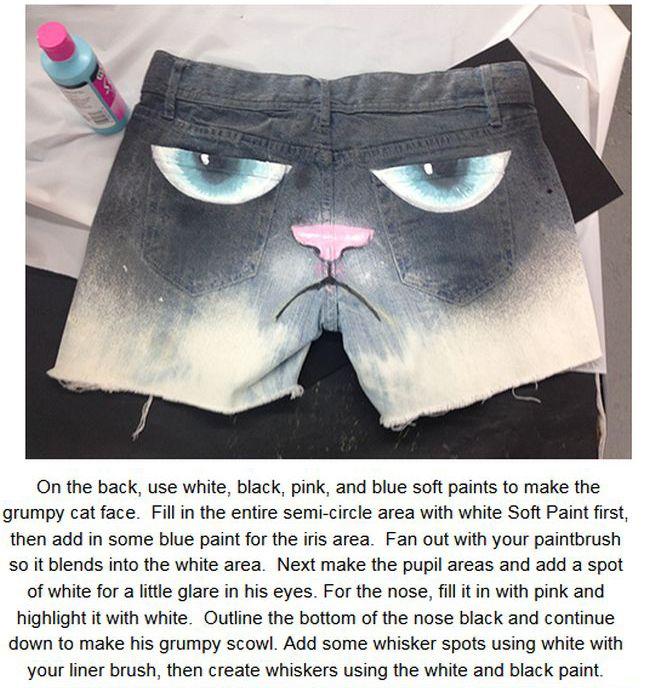 Grumpy Cat Shorts