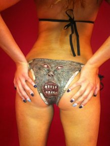 The Necronomicon Bikini