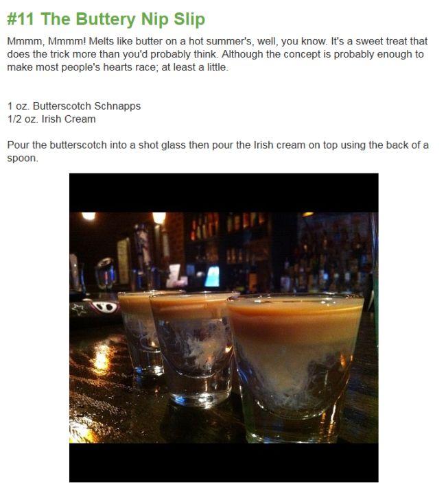 Amazing Layered Drinks