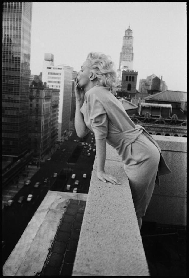 Rare photos of Marilyn Monroe in New York   Celebrities
